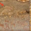 Pintura da antiguidade em caverna na Índia mostra possível disco voador 38