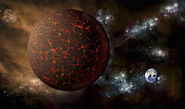 """Nibiru """"sacudindo os céus"""" em """"profecia bíblica do apocalipse da Terra"""""""