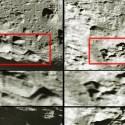 Seriam estas formações enormes edifícios na Lua? 1