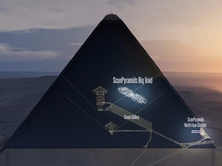 Arqueólogo fala sobre descoberta na Grande Pirâmide do Egito