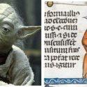 O que o Mestre Yoda está fazendo num manuscrito do século XIV? 1