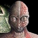 Contato humano com reptilianos 12