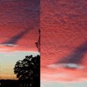 O que causou esse rastro e buraco nas nuvens no Arizona, EUA? 2