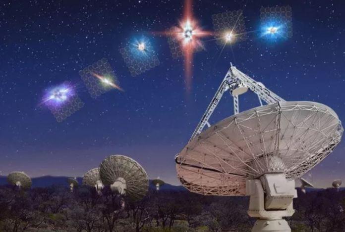 Sinais misteriosos estão vindo de mais de uma galáxia
