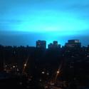 Explicação oficial da luz azul que inundou o céu de Nova Iorque é contestada 9