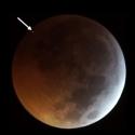 Rocha espacial impacta a Lua durante o eclipse desta semana 1