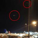 Real: Dois OVNIs são filmados sobre o aeroporto do Peru - Controle de tráfego aéreo confirma anomalias 12