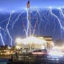 """""""Tempestade apocalíptica"""" de raios atinge a Califórnia (EUA) 3"""