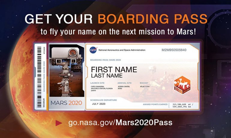 NASA quer levar você até Marte