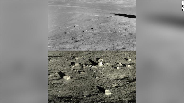 Sonda chinesa revela segredos no lado oculto da Lua 1