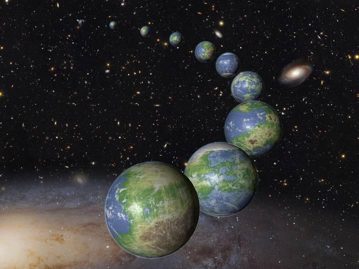 acabam de descobrir 18 planetas do tamanho da Terra