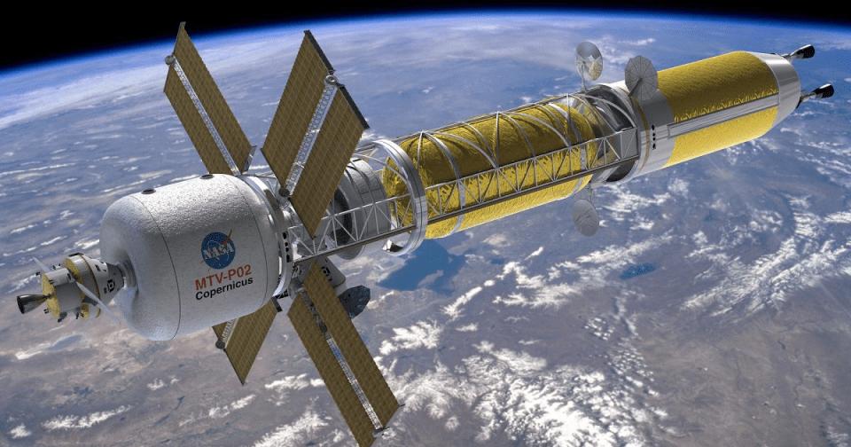 NASA começa a desenvolver espaçonaves com propulsão nuclear