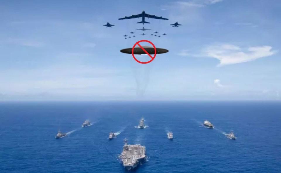 A Marinha dos EUA não irá liberar informações secretas sobre OVNIs