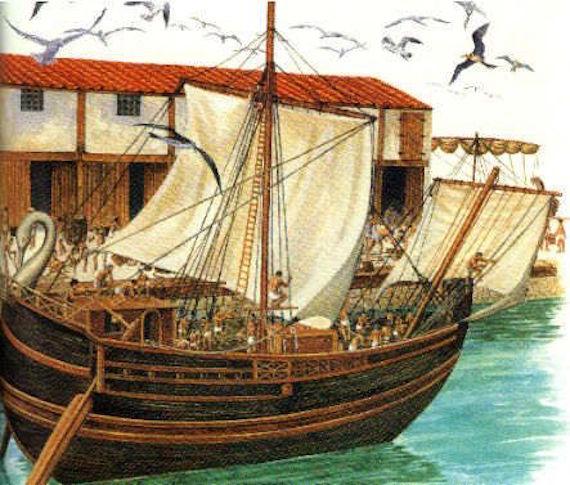 As misteriosas relíquias romanas submersas do Brasil 1