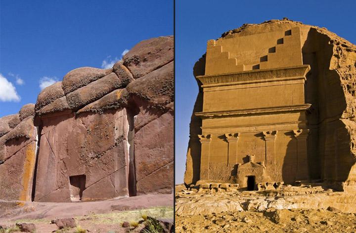 A lenda armênia de um portal para outro mundo entalhado na rocha 1