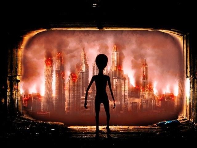 A Terra está sendo reformatada para acomodar os alienígenas