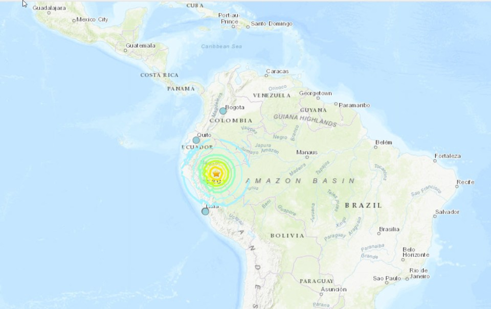 Terrível terremoto atinge o Peru