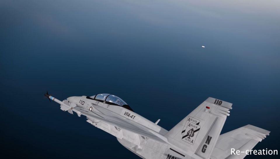 encontro de OVNIs com aviadores militares