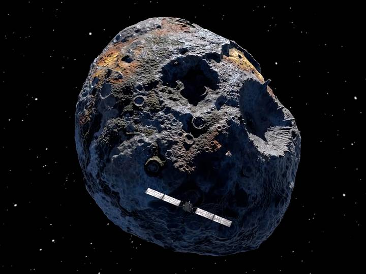 O asteróide cheio de ouro poderia transformar todos os habitantes da Terra em bilionários