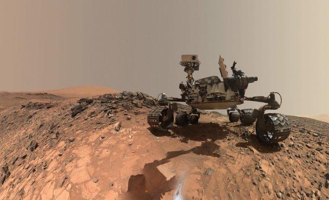 NASA encontra prováveis restos de compostos orgânicos em Marte