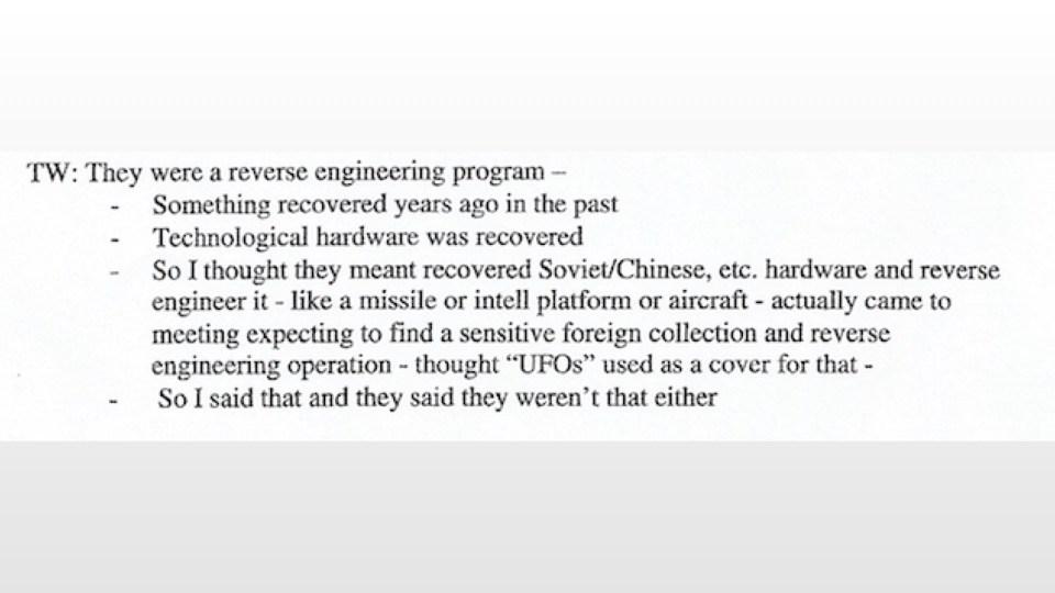 """IMPORTANTE: Saiba exatamente o que diz o documento do """"maior vazamento OVNI do século"""" 17"""