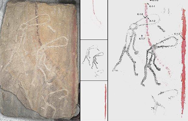 Arte de 5.000 anos atrás pode retratar alienígenas - e é feita com técnicas modernas 1