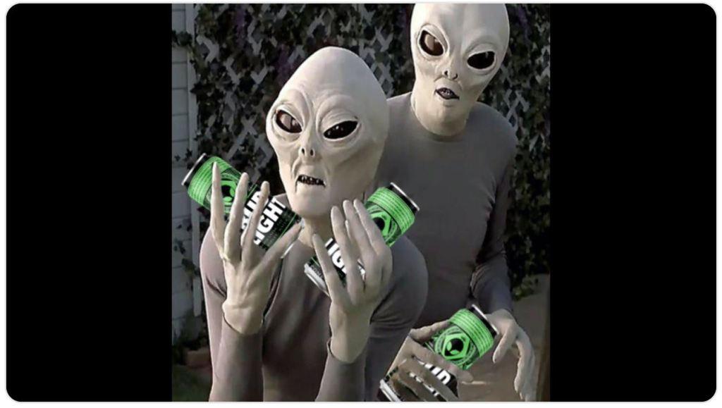 Bud Light oferece cerveja grátis para alienígenas que escaparem da Área 51