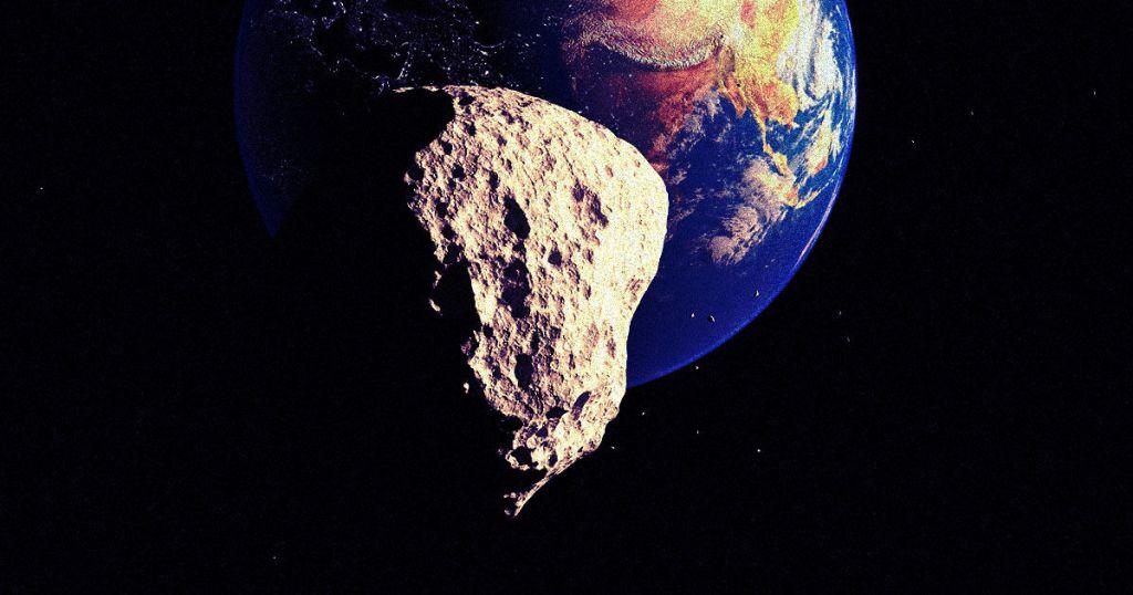Asteroide passará pela Terra a uma distância 5 vezes menor que a da Lua