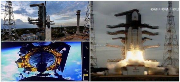 Missão lunar da Índia é lançada com sucesso