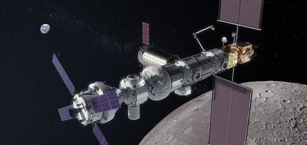 Revelado plano orbital para a estação espacial lunar
