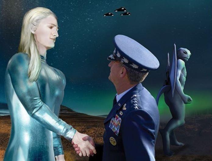 Alianças extraterrestres e o Programa Espacial Secreto da Força Aérea dos EUA