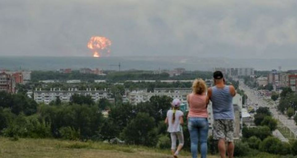 Acidente nuclear na Rússia devido teste de foguete, mata 5