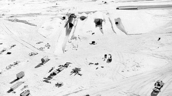 Base militar secreta dos EUA está 'vindo à tona' com derretimento do gelo na Groenlândia