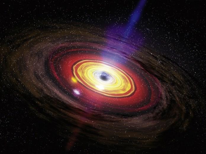 Buraco negro no centro da nossa galáxia subitamente aumenta seu brilho