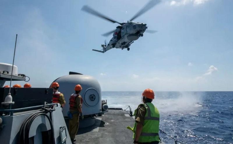 Marinha de Israel se prepara para grande terremoto 1