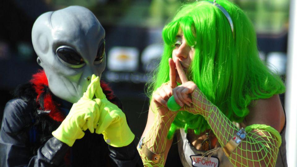 Por que o Trump não nos conta a respeito dos alienígenas?