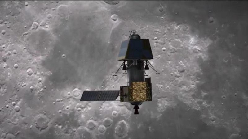 Índia tentará pousar na Lua daqui 5 dias