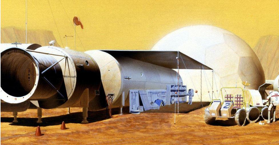 Astronautas misturam cimento no espaço pela primeira vez
