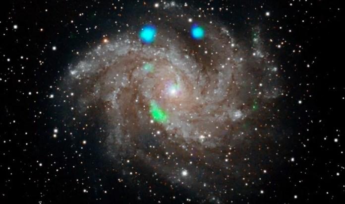 Satélite da NASA avista misteriosas luzes coloridas que logo desapareceram