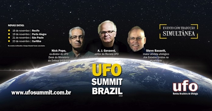UFO Summit Brazil 2019 - participe do sorteio de 10 ingressos!