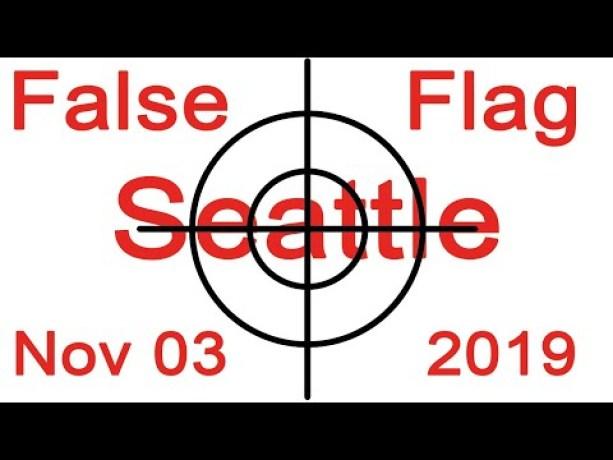 Programação preditiva indica ataque de bandeira falsa à cidade de Seattle - EUA, em 3/11/2019