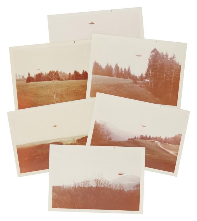 Fotos de OVNIs por Billy Meier vão a leilão. Uma delas foi usada na série Arquivo X