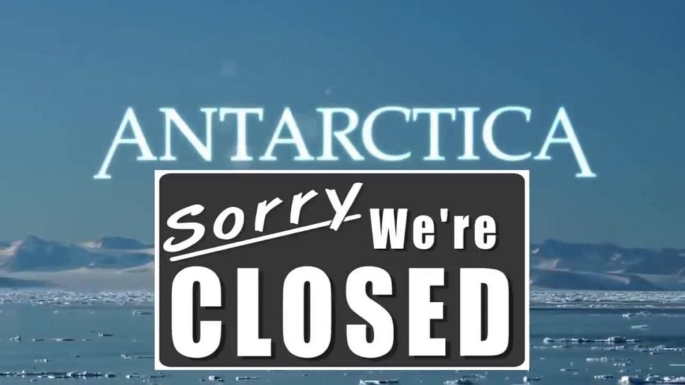 Antártica sob bloqueio enquanto começa o programa espacial secreto