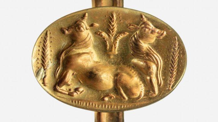 Túmulos antigos revestidos de ouro são descobertos na Grécia