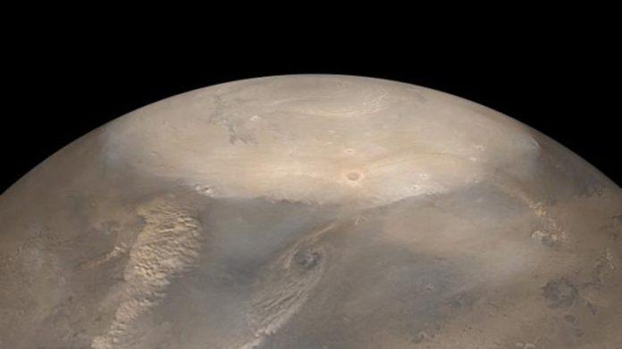 Aquecimento global em Marte? NASA detecta grande colapso do gelo polar… em Marte
