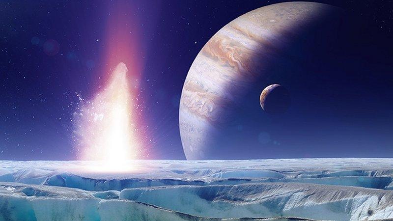 Vida extraterrestre existe na Lua Europa de Júpiter com certeza, dizem especialistas