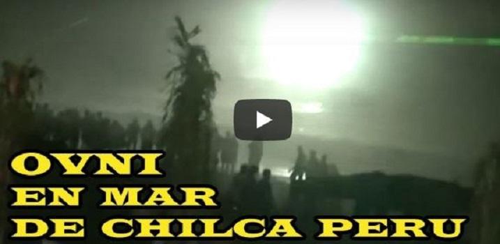 OVNI lançando fachos de luz aparece durante vigília no Peru