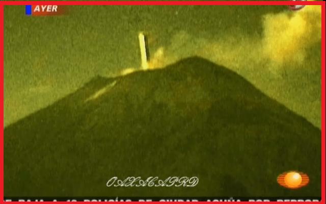 Estranha atividade de OVNIs ao redor desses vulcões atrai ufólogos