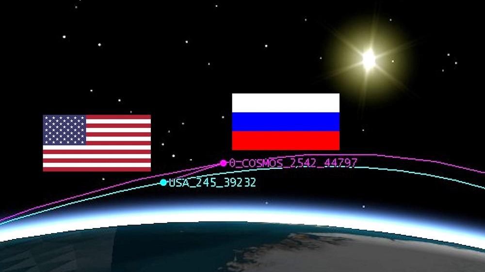 Misteriosa nave espacial russa segue satélite secreto dos EUA