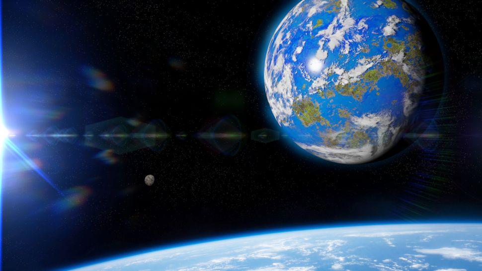 Como seríamos se a Terra fosse uma super-Terra, um planeta gigante?
